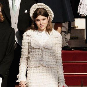 Rare Chanel Vintage Fall 2005 White 05A Jacket